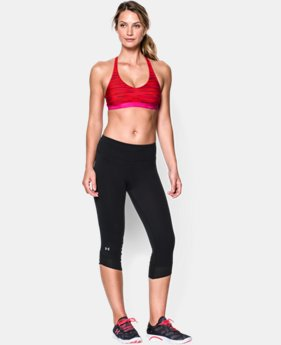 Women's UA Armour Low Printed Bra  1 Color $20.24 to $34.99