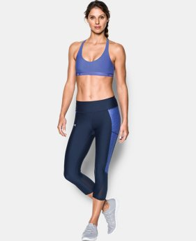 New Arrival  Women's UA Armour Low Printed Bra   $34.99