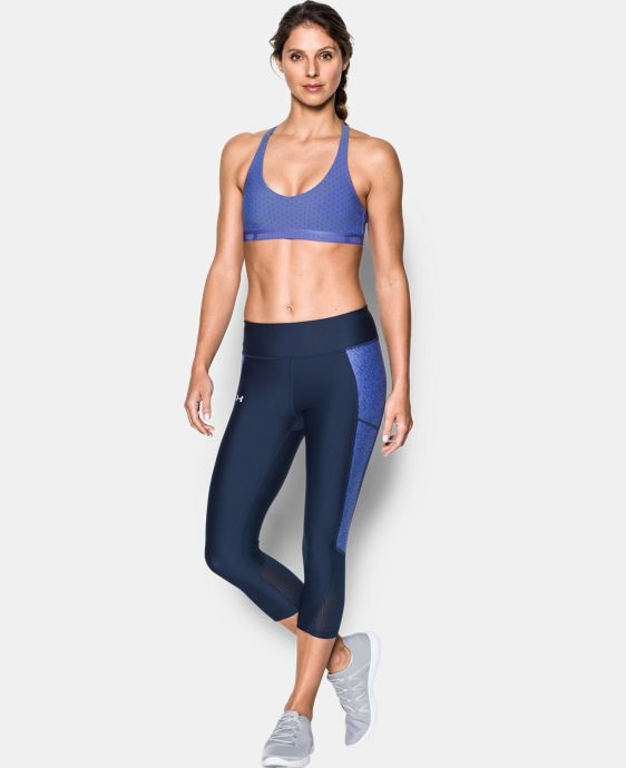 New Arrival  Women's UA Armour Low Printed Bra  1 Color $34.99