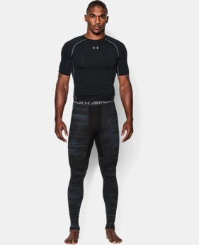 Men's UA ColdGear® Armour Printed Compression Leggings  2 Colors $35.99 to $44.99