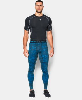 Men's UA ColdGear® Armour Printed Compression Leggings LIMITED TIME: FREE U.S. SHIPPING  $44.99