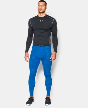 Men's UA ColdGear® Armour Printed Compression Leggings  1 Color $35.99 to $44.99