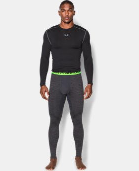 Men's UA ColdGear® Armour Twist Compression Leggings   $35.99