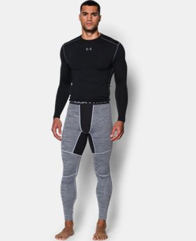 Men's UA ColdGear® Armour Twist Compression Leggings  1 Color $41.99 to $52.99