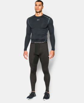 Men's UA ColdGear® Armour Twist Compression Leggings   $35.99 to $44.99
