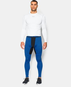 Men's UA ColdGear® Armour Twist Compression Leggings  1 Color $41.99 to $69.99