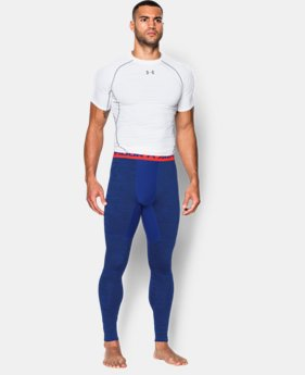 Men's UA ColdGear® Armour Twist Compression Leggings  4 Colors $41.99 to $52.99