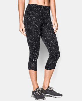 Women's UA Fly Fast Luminous Capri   $56.99