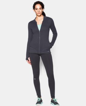 Women's UA Armour® Stretch ColdGear Full Zip