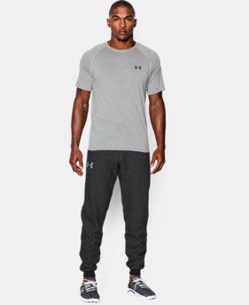 New to Outlet Men's UA Rival Fleece Printed Joggers  1 Color $35.99