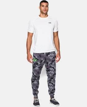 Men's UA Rival Fleece Printed Joggers
