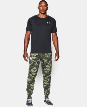 New to Outlet Men's UA Rival Fleece Printed Joggers LIMITED TIME: FREE U.S. SHIPPING 2 Colors $44.99