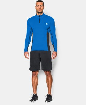 Men's UA ColdGear® Armour® Stretch ½ Zip