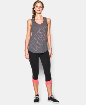 Women's UA Oversized Run Graphic Tank