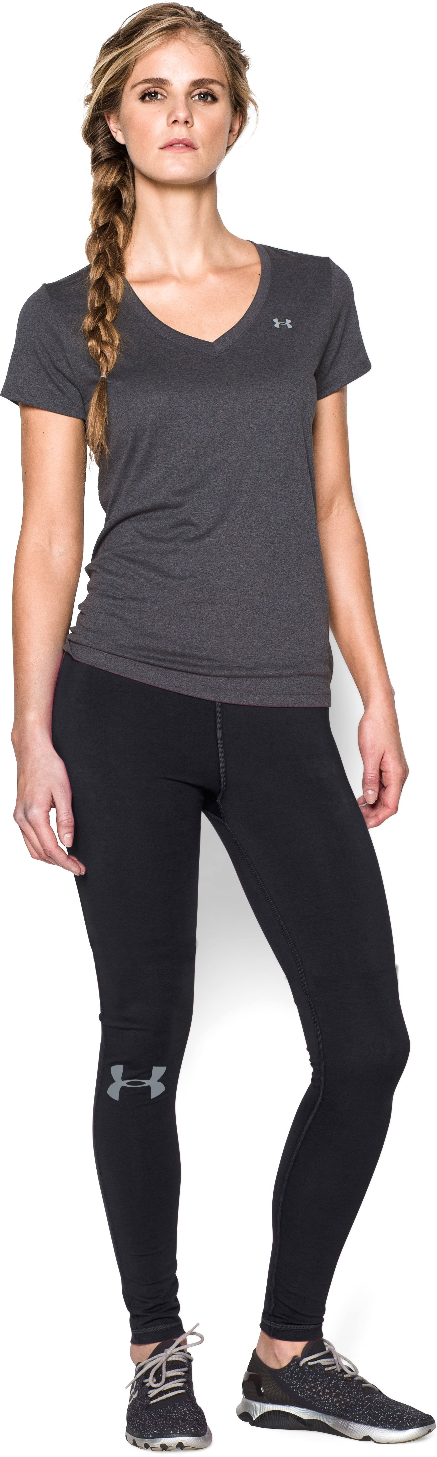 Women's UA Everywhere , Black , Front