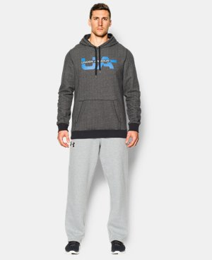 Men's UA Rival Fleece Graphic Hoodie  2 Colors $33.74