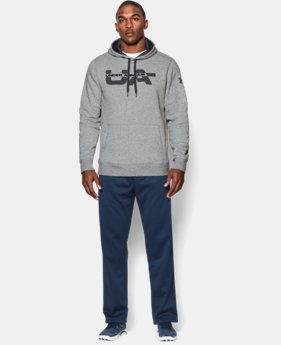Men's UA Rival Fleece Graphic Hoodie LIMITED TIME: FREE U.S. SHIPPING 1 Color $44.99