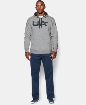 Men's UA Rival Fleece Graphic Hoodie  1 Color $33.74