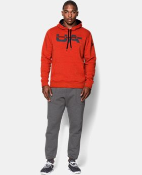 Men's UA Rival Fleece Graphic Hoodie   $44.99
