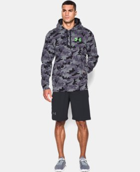 Men's UA Rival Fleece Printed Hoodie LIMITED TIME: FREE U.S. SHIPPING 1 Color $54.99