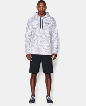 Men's UA Rival Fleece Printed Hoodie