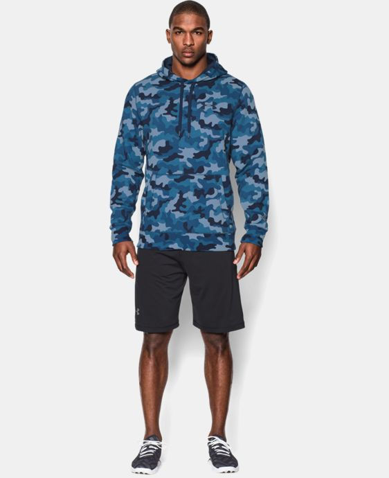 Men's UA Rival Fleece Printed Hoodie LIMITED TIME: FREE U.S. SHIPPING 1 Color $41.99