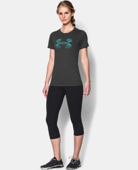 Women's UA Charged Cotton® Tri-Blend Antler T