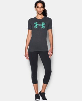 Women's UA Charged Cotton® Tri-Blend Antler T LIMITED TIME: FREE SHIPPING 1 Color $24.99