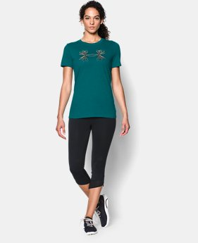 Women's UA Charged Cotton® Tri-Blend Antler T   $17.99