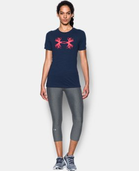 Women's UA Charged Cotton® Tri-Blend Antler T LIMITED TIME: FREE SHIPPING  $24.99