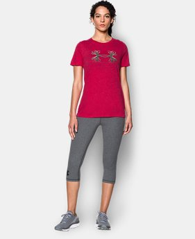 Women's UA Charged Cotton® Tri-Blend Antler T  1 Color $17.99