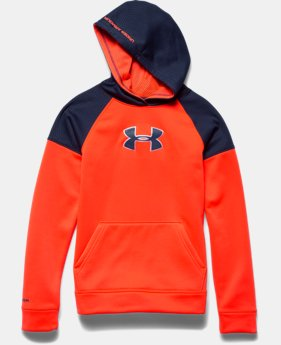 Boys' UA Storm Armour® Fleece Knit Hoodie