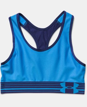 Girls' UA HeatGear® Armour Sports Bra