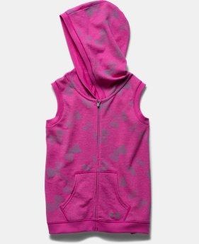 Girls' UA Kaleidalogo Full Zip Vest