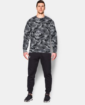 Men's UA Storm Rival Fleece Printed Crew