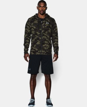 Men's UA Storm Rival Fleece Printed Hoodie LIMITED TIME: FREE U.S. SHIPPING 1 Color $74.99
