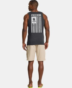 Men's UA WWP Freedom Flag Tank