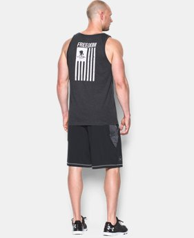 Men's UA WWP Freedom Flag Tank LIMITED TIME: FREE U.S. SHIPPING 1 Color $17.24