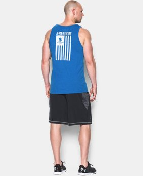 Men's UA WWP Freedom Flag Tank  1 Color $29.99