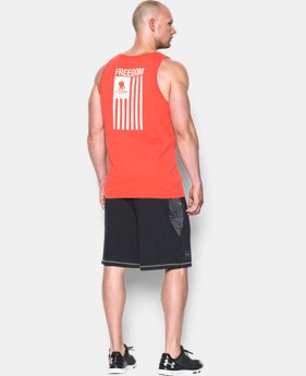 Men's UA WWP Freedom Flag Tank LIMITED TIME: FREE SHIPPING 1 Color $17.24 to $22.99