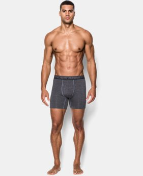 "New to Outlet Men's UA Original Series Printed Twist 6"" Boxerjock®  4 Colors $11.99 to $14.24"