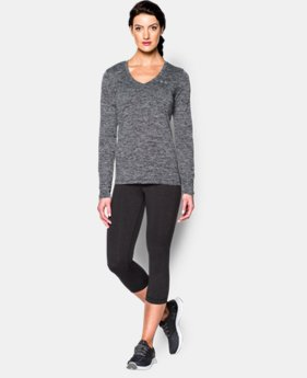 Women's UA Tech™ Twist Long Sleeve  1 Color $20.99 to $22.99