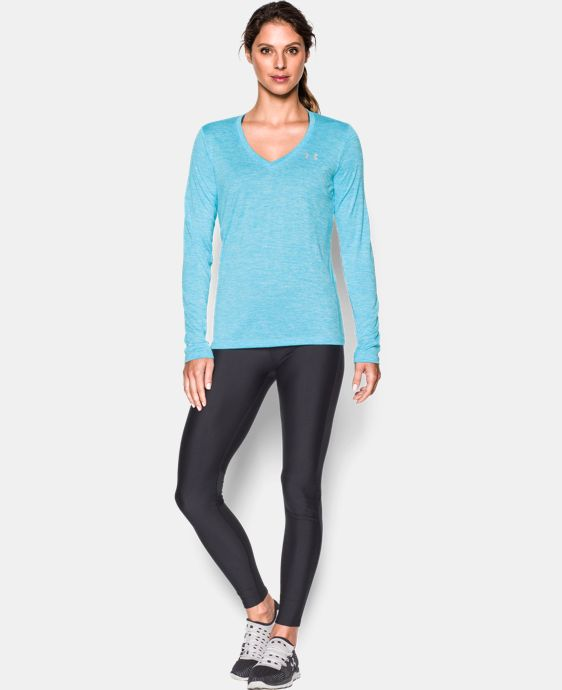 New Arrival  Women's UA Twist Tech™ Long Sleeve LIMITED TIME: FREE SHIPPING 2 Colors $34.99