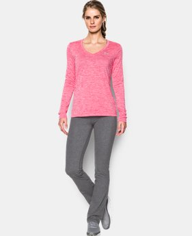 Women's UA Tech™ Twist Long Sleeve LIMITED TIME: FREE SHIPPING 4 Colors $20.24 to $34.99