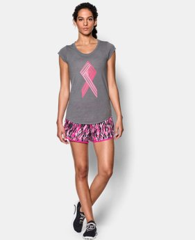 Women's UA Power In Pink® Big Ribbon T-Shirt