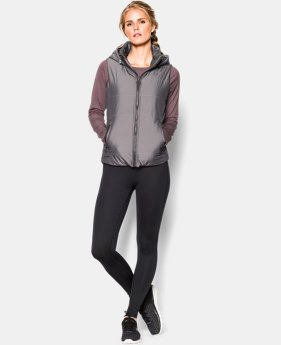 Women's UA Metallic Puffer Vest  1 Color $116.99