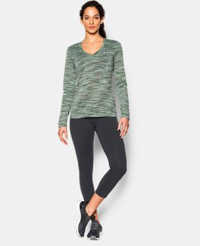 Women's UA Tech™ Space Dye Long Sleeve  1 Color $17.24