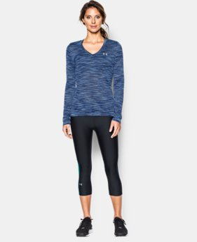 Women's UA Tech™ Space Dye Long Sleeve