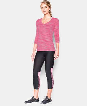 Women's UA Tech™ Space Dye Long Sleeve LIMITED TIME: FREE U.S. SHIPPING 1 Color $17.99 to $22.99