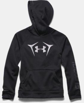 Boys' UA Storm Armour® Fleece Futbol Logo Hoodie